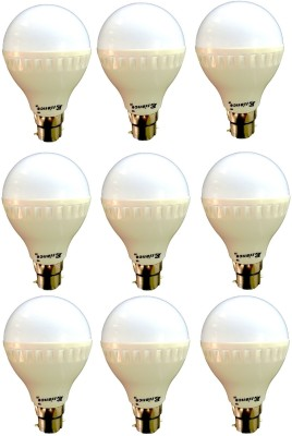Eliance-7W-B22-LED-Bulb-(White)-[Pack-of-9]