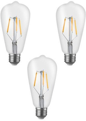 Imperial-16181-ST01-4W-E27-LED-Filament-Bulb-(Yellow,-Pack-Of-3)
