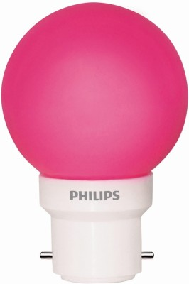 Philips-0.5W-LED-Bulb-(Pink,-Pack-of-5)