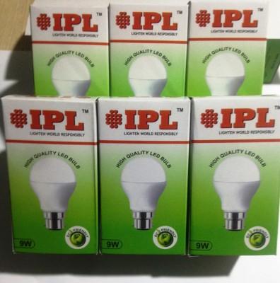IPL-9W-B22-LED-Bulb-(White,-Set-of-6)