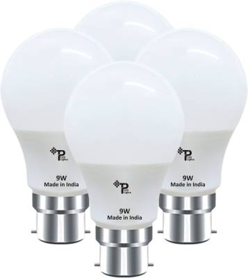 Tp-9W-B22-LED-Bulb-(Pack-Of-4-,White)