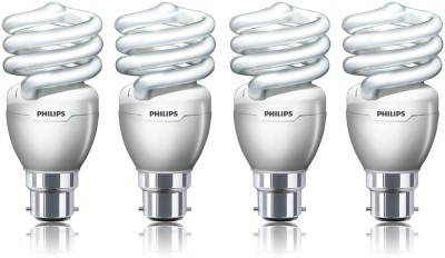 Philips 23 W B22 CFL Bulb(White, Pack of 4)  available at flipkart for Rs.1111