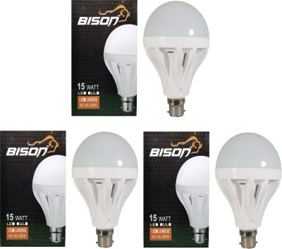 15W-B22-LED-Bulb-(White,-Set-Of-3)
