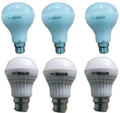 Gypee-12W-G312-LED-Bulb-(White,-Pack-of-6)