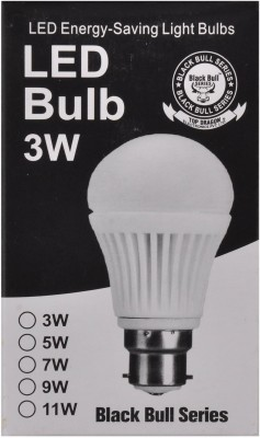 Black-Bull-Series-3W-B22-LED-Bulb-(White)
