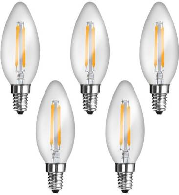 Imperial-JP02-2W-E14-LED-Filament-Bulb-(Yellow,-Pack-Of-5)