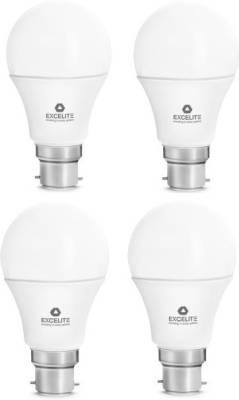 excelite-Dazzel-7W-LED-Bulb-(White,-Pack-of-4)