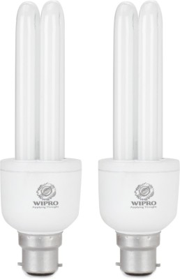 Wipro 15 W B22 CFL Bulb(White, Pack of 2)  available at flipkart for Rs.329