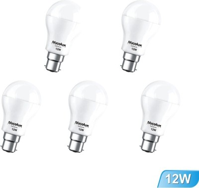 Micolux-Lighting-12W-Cool-Day-Light-LED-Bulbs-(Pack-Of-5)