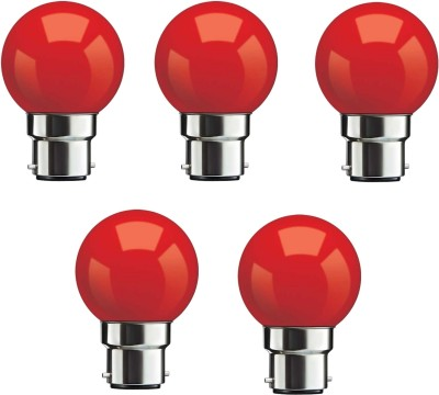Syska-0.5W-Red-LED-Bulb-(Pack-Of-5)