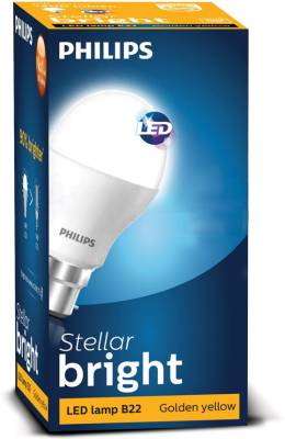 10.5-W-LED-Stellar-Bright-Lamp-Bulb-E27-Golden-Yellow