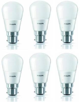 4W-350L-LED-Bulb-(White,-Pack-of-6)