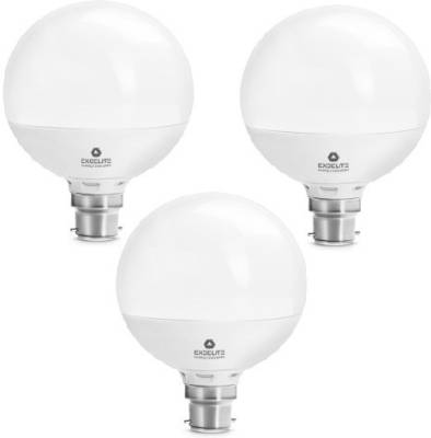excelite-15W-White-1200-Lumens-LED-Dazzel-Bulb-(Pack-Of-3)