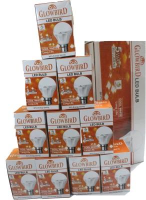 Glowbird-5W-B22-LED-Bulb-(White,-Set-of-10)