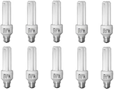 Zora 11 W CFL Bulb (White, Pack of 10) Image