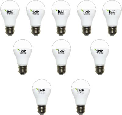 Imperial-10W-WW-E27-3623-Premium-LED-Bulb-(Warm-White,-Pack-Of-10)