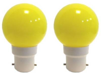 Ornate-0.5-W-LED-Bulb-(Yellow,-Pack-of-2)