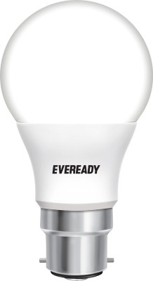 Eveready Cool Day Light - Get 4 Alkaline Strip Free 7 W LED Bulb (White)