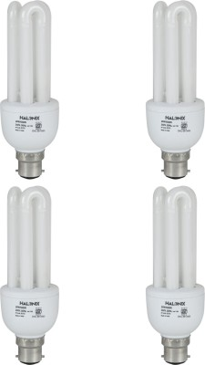 Halonix-20-W-CFL-3U-Bulb-(Pack-of-4)
