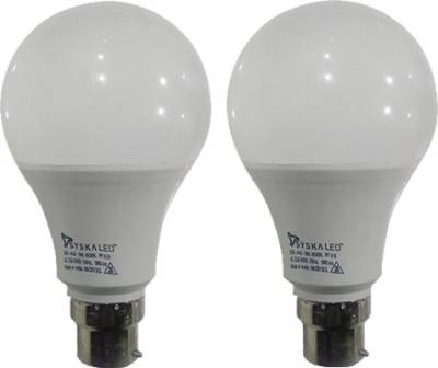 9-W-B22-PAG-LED-Bulb-(White,-Plastic,-Pack-of-2)