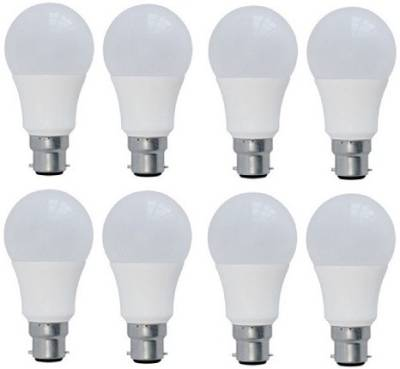 Syska-5-W-LED-Bulb-B22-Yellow-(pack-of-8)