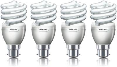 Philips Tornado Spiral 20 Watt CFL Bulb (Cool Day Light,Pack of 4) Image