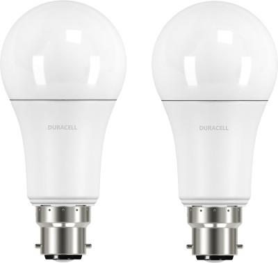 Duracell-11W-B22-Led-Bulb-(White,-Set-Of-2)
