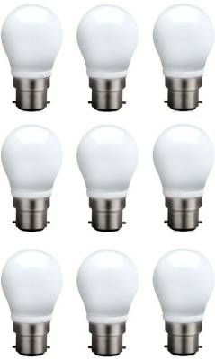 3-W-B22-QA0301-LED-Bulb-(White,-Pack-of-9)-
