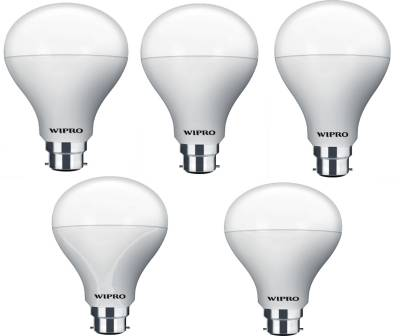Wipro-Garnet-14W-B22-LED-Bulb-(Warm-White,-Pack-Of-5)