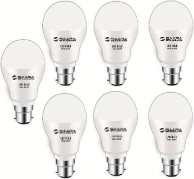 Saara-7-W-11017-LED-JAYO-Spiral-Bulb-B22-Cool-White-(pack-of-7)