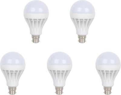 Earton-12W-B22-LED-Bulb-(White,-Set-of-5)