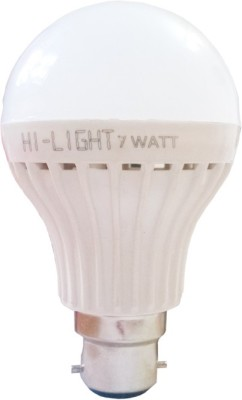 Hi-Light-7W-B22-LED-Bulb-(White,-Set-of-3)
