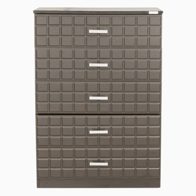 Godrej Interio Chocolate Plus 800W Engineered Wood Free Standing Chest of Drawers(Finish Color - Colarain)