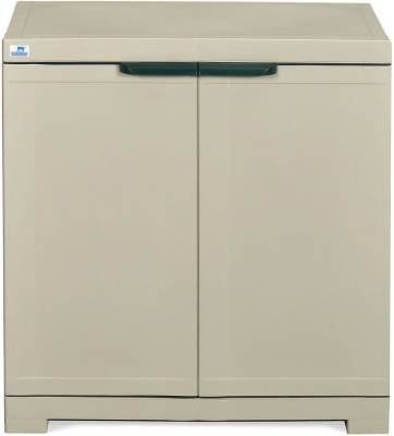 Nilkamal Freedom Mini Small Storage Cabinet Fms Plastic Free Standing Chest of Drawers(Finish Color - Pestle Green & Grey)