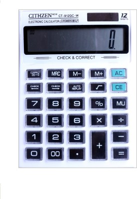 CT 912GCW Original 912GC-W Basic Calculator(12 Digit)