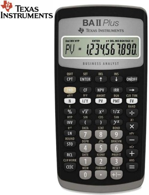 Texas Instruments BA-II Plus Advance Stealodeal BA-II Plus Advance Financial Calculator(10 Digit)