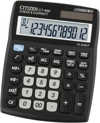 Citizen CT 600J Desktop Basic Calculator(12 Digit)