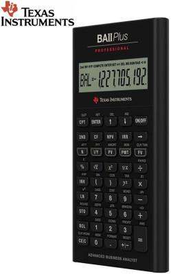 TEXAS INSTRUMENTS BAII Plus Professional Stealodeal BAII Plus Professional Financial Calculator(10 Digit)
