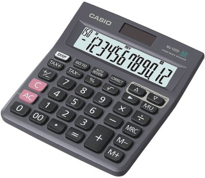 Casio MJ-120D Desktop Basic Calculator(12 Digit)