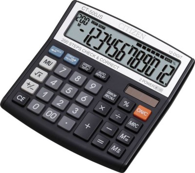 Citizen CT-500JS CT-500JS Financial Basic Calculator(12 Digit)