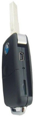 Autosity Detective Security Remote Center Lock BMW HD Camera Key Chain Spy Product Camcorder(Black)