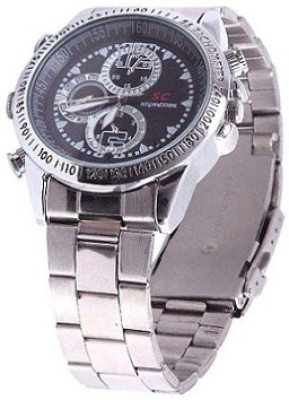 Autosity Detective Survilliance (sc) Based Chain Hand DVR Watch Spy Product Camcorder(Silver)