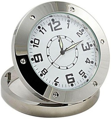 Autosity Detective Survilliance Hidden Camera Clock For Video Photo Clock Spy Product Camcorder(Silver)