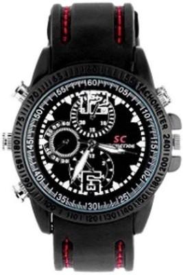 View Autosity Detective Survilliance (sc) Survilliance Wrist Watch Spy Camera Camcorder(Black) Price Online(Autosity)