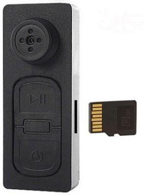 Autosity Detective Survilliance Card Mini HD Button Camera Spy Item Camcorder(Black)