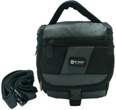 Synergy Digital Panasonic HDC-SD100 Camcorder Case Camcorder and Digital Camera Case  Camera Bag(Black, Grey)  available at flipkart for Rs.2890