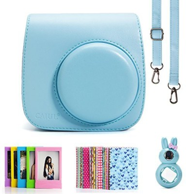CAIUL 4 in 1 instax Mini 8 Instant Camera Accessories Bundles (Included: Instax Mini 8 Case/ Instax mini 8 Close-Up selfie Lens/3 inches Colorful Film Frame/ Instax Mini Film Stickers)  Camera Bag(Multicolor)  available at flipkart for Rs.1695