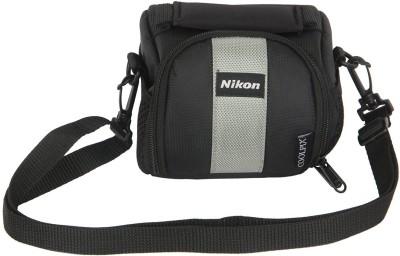 Nikon DSLR Coolpix Soft-3  Camera Bag(Black)  available at flipkart for Rs.229