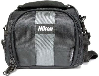 Nikon Coolpix Soft-3  Camera Bag(Black)  available at flipkart for Rs.149