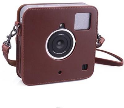 Caiul Socialmatic-brown  Camera Bag(Brown) at flipkart